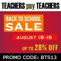 TpT Back-to-School Sale