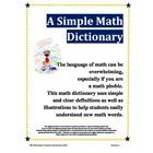 A Simple Math Dictionary